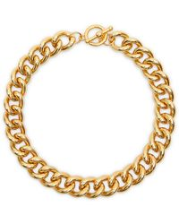 Kenneth Jay Lane Gold-plated Chain Necklace - Metallic
