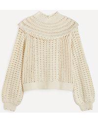 RIXO London Silvia Frill Sweater - Multicolor