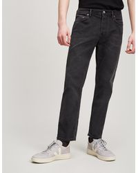 Acne Studios - River Used Black Jeans - Lyst