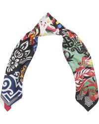 Christian Lacroix - Spanish Paris Silk Scarf - Lyst