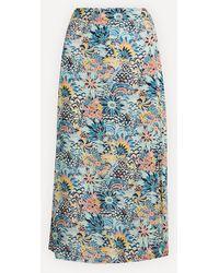 Roxy Marine Bloom Midi-skirt - Blue
