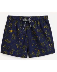 Boardies Zodiac Swim Shorts - Blue