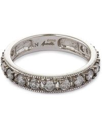 Annoushka 18ct White Gold Dusty Diamonds Eternity Ring