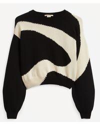 Paloma Wool Pin Swirl Wool-mix Sweater - Blue
