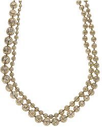 Rosantica - Innocenza Brass Sphere Filigree Wrap Necklace - Lyst