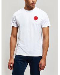 Edwin Japanese Sun T-shirt - White