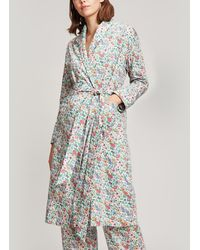 Liberty - Rachel Long Cotton Robe - Lyst