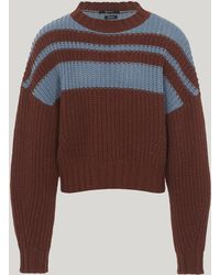 Qasimi - Kalash Bellone Cropped Stripe Jumper - Lyst