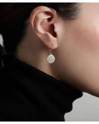 Astley Clarke White Gold Icon Diamond Earrings - Multicolour