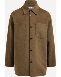 Acne Studios Wool Shirt Jacket - Multicolour