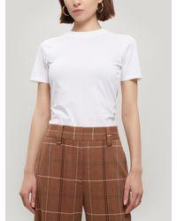 Acne Studios Dorla Short-sleeve Cotton T-shirt - White