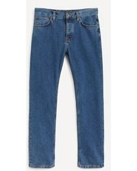 Nudie Jeans Steady Eddie Ii Friendly Blue Jeans