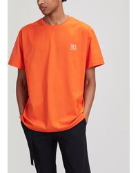 Wooyoungmi Classic Logo T-shirt - Orange