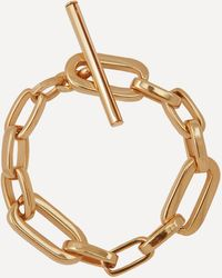 Joolz by Martha Calvo Gold-plated Elle Chain Bracelet - Metallic