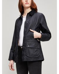 Barbour 'Beadnell' Quilted Jacket - Black