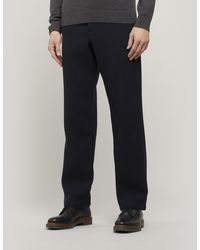 Oliver Spencer Textured Drawstring Trousers - Blue