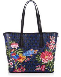 Liberty - Elysian Paradise Embroidered Little Marlborough Tote Bag - Lyst