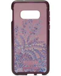 Liberty X Tech21 Pure Print Shangri-la Samsung 10e Case - Purple