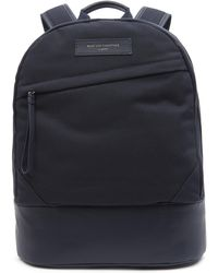 Want Les Essentiels De La Vie Organic Kastrup Backpack - Blue