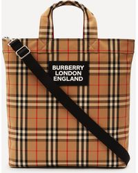 Burberry - Artie Vintage Check Tote Bag - Lyst