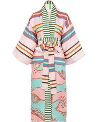 Rianna + Nina Loukoumi Kimono Loukoumi Ii - Multicolor