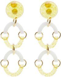 Lele Sadoughi   Rainbow Arch Earrings   Lyst