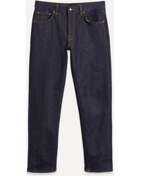 Nudie Jeans Gritty Jackson Dry Classic Navy Jeans - Blue