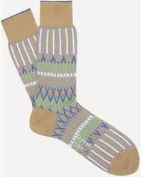 Ayamé Basket Lunch Socks - Natural