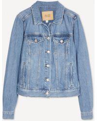 PAIGE Rowan Denim Jacket - Blue