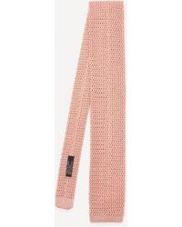 Nick Bronson Plain Silk Tie - Multicolor