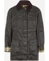 Barbour Beadnell Wax Two-pocket Jacket - Multicolour