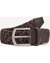 Andersons Multi Colour Woven Elastic Belt - Multicolour