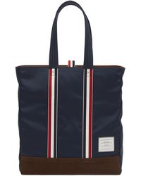 Thom Browne - Unconstructed Stripe Handle Tote Bag - Lyst