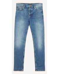 Nudie Jeans Steady Eddie Ii Jeans - Blue