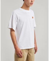 Maison Labiche Banana Smile Cotton T-shirt - White