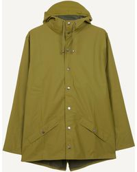 Rains Classic Waterproof Jacket - Green