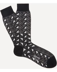 Ayamé C53 Flag Socks - Black