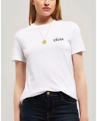 Être Cécile Love Bird Cotton T-shirt