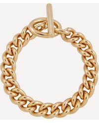 Joolz by Martha Calvo Gold-plated Lex Chain Bracelet - Metallic