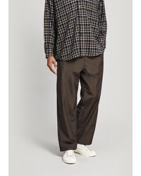 Our Legacy Reduced Drawstring Pants - Brown