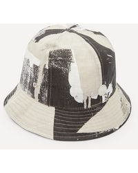 Folk Olio Print Bucket Hat - Multicolour