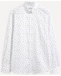 Liberty - Man's Best Friend Cotton Twill Casual Button-down Shirt - Lyst