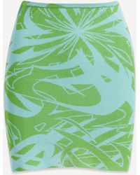 Paloma Wool Aeri Flash Print Skirt - Green