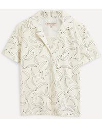 ALEXACHUNG Go Bananas Bowling Shirt - Multicolour