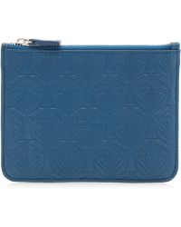 Liberty - Coin Purse In Iphis Debossed Leather - Lyst