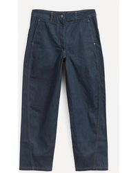 Lemaire Twisted Jeans - Blue