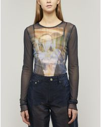 Our Legacy Super-slim Long Sleeve Jersey Top - Multicolor