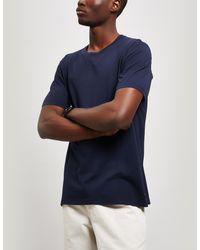 Folk Assembly Cotton T-shirt - Blue