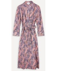 Liberty Felix And Isabelle Tana Lawn' Cotton Robe - Multicolour