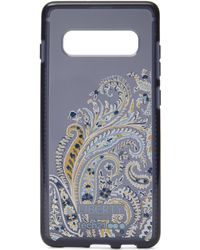 Liberty X Tech21 Pure Print Felix Raisen Samsung 10s+ Case - Blue